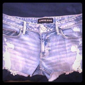 Express Jean shorts